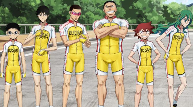 6. Yowamushi Pedal (2013 – 2018)